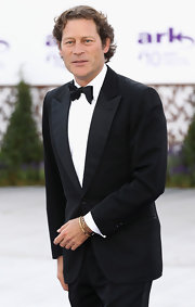 You can never go wrong with a classic tux and Arpad Busson spot on in this one.