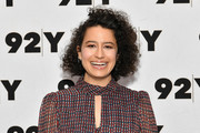 Ilana Glazer attended an event at 92nd Street Y wearing her usual short curls.
