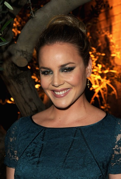 Abbie Cornish Smoky Eyes