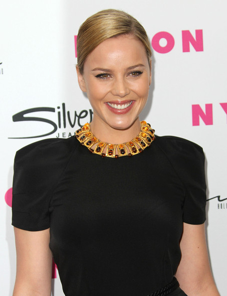 Abbie Cornish Bronze Statement Necklace