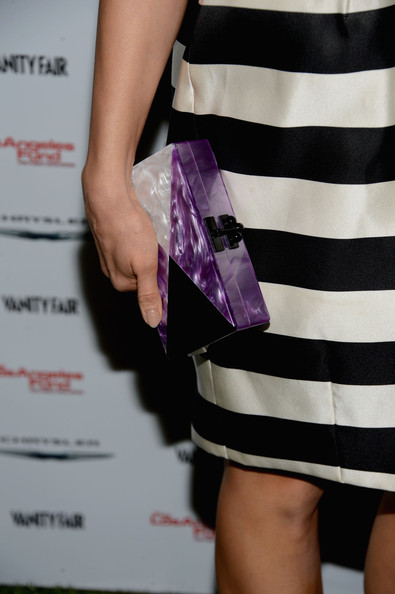 Abigail Spencer Hard Case Clutch