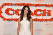 Abigail Spencer Leather Dress