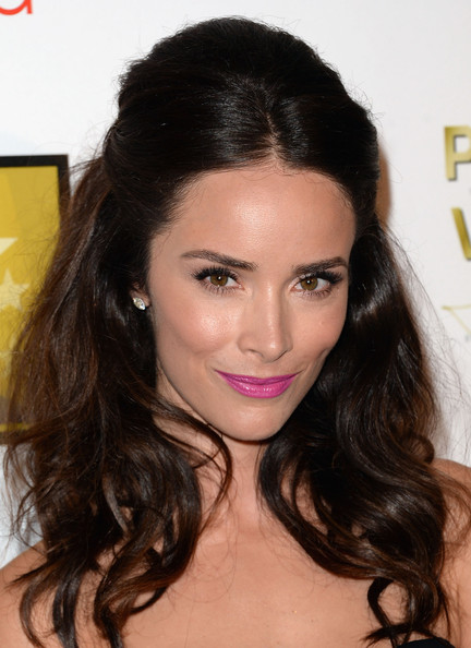 Abigail Spencer Bright Lipstick