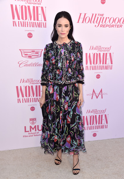 Abigail Spencer Skirt Suit [the hollywood reporter,clothing,fashion,fashion model,footwear,fashion design,hairstyle,dress,carpet,fashion show,premiere,power 100 women in entertainment,abigail spencer,power 100 women in entertainment,hollywood,california,hollywood reporter,milk studios]