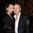 Damien Hirst and Roxie Nafousi