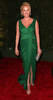 Virginia Madsen showed is exactly why wearing green on the red carpet is such a good idea!