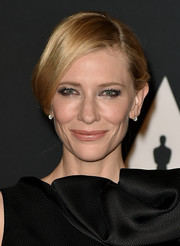 Cate Blanchett opted for a simple yet sophisticated loose updo when she attended the Governors Awards.