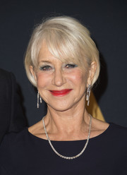 Helen Mirren stuck to her usual bob when she attended the Governors Awards.