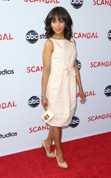 More Pics of Kerry Washington Pumps (5 of 25) - Kerry Washington Lookbook - StyleBistro