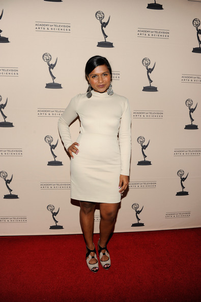 More Pics of Mindy Kaling Dangling Spheres (1 of 10) - Mindy Kaling Lookbook - StyleBistro