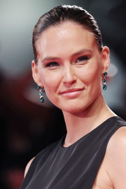 Bar Refaeli wore her hair in a classic bun at the Venice Film Festival screening of 'Ad Astra.'