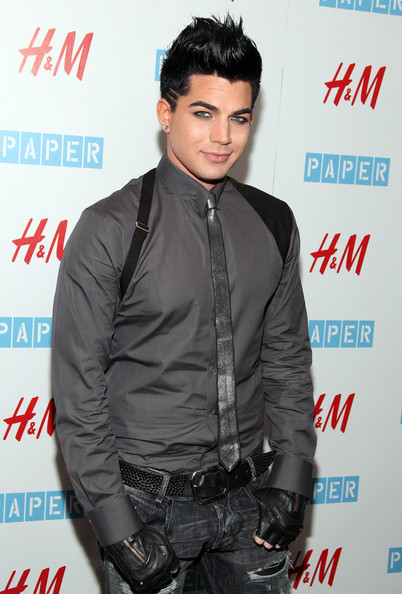 Adam Lambert Narrow Solid Tie