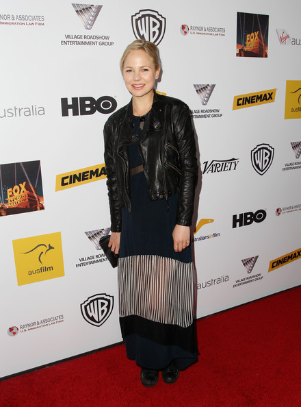 Adelaide Clemens Leather Jacket