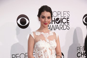 Adelaide Kane Leather Clutch