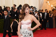 Adele Exarchopoulos Corset Dress