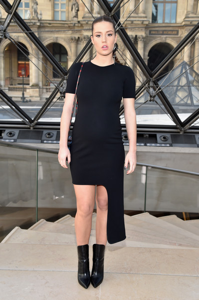Adele Exarchopoulos Maternity Dress