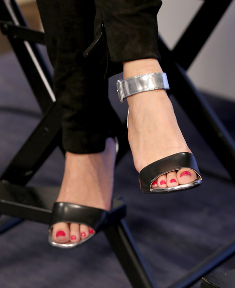 Adele Exarchopoulos Evening Sandals