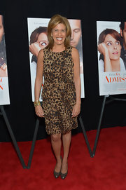 Hoda Kotb showed her wild side at the 'Admission' premiere in NYC when she sported a leopard print dress.
