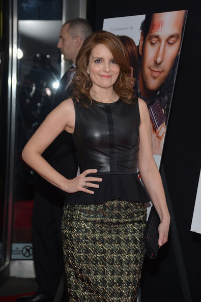 More Pics of Tina Fey Medium Curls (1 of 20) - Tina Fey Lookbook - StyleBistro