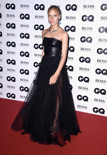Adwoa Aboah Strapless Dress