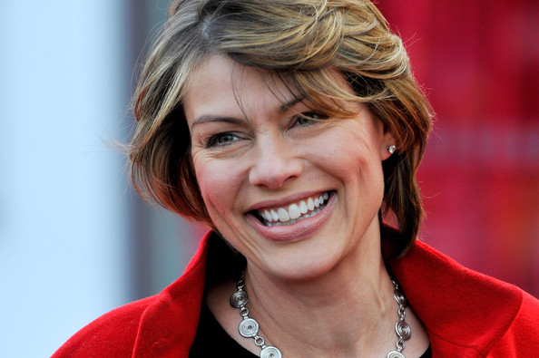 More Pics of Kate Silverton Short Side Part (4 of 4) - Short Hairstyles Lookbook - StyleBistro [african cats,hair,facial expression,hairstyle,smile,blond,chin,layered hair,tooth,laugh,feathered hair,tusk,arrivals,kate silverton,aid,aid,uk,england,african cats - uk premiere,premiere]