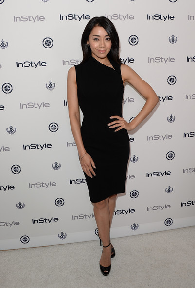 Aimee Garcia Little Black Dress