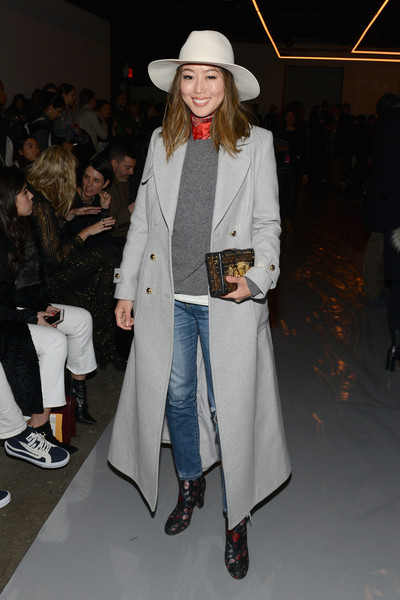 Aimee Song Wool Coat