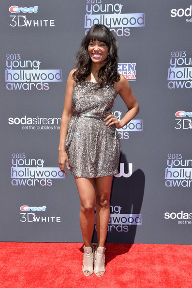 Aisha Tyler Beaded Dress