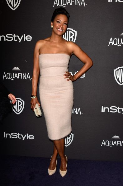 Aisha Tyler Strapless Dress