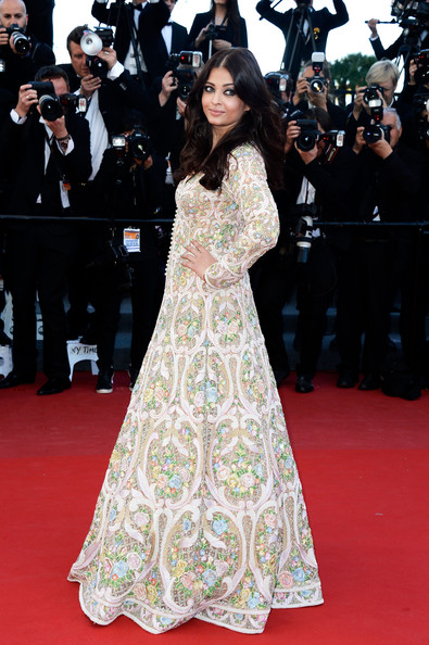 Aishwarya Rai Print Dress