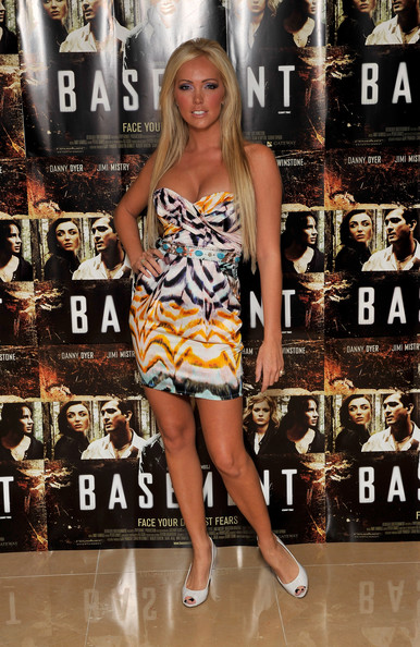 Aisleyne Horgan-Wallace Strapless Dress
