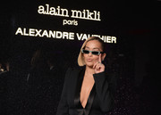 Rita Ora showed off her 'Edwidge' jeweled sunglasses at the Alain Mikli x Alexandre Vauthier launch.