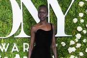 Alek Wek Over the Knee Boots
