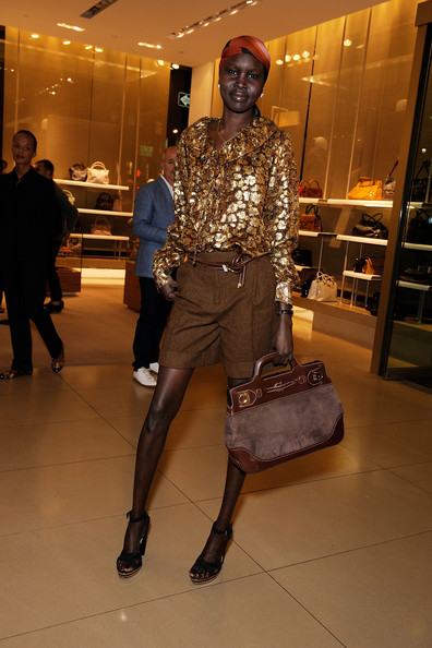 Alek Wek Dress Shorts