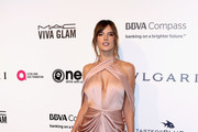 Alessandra Ambrosio Cutout Dress