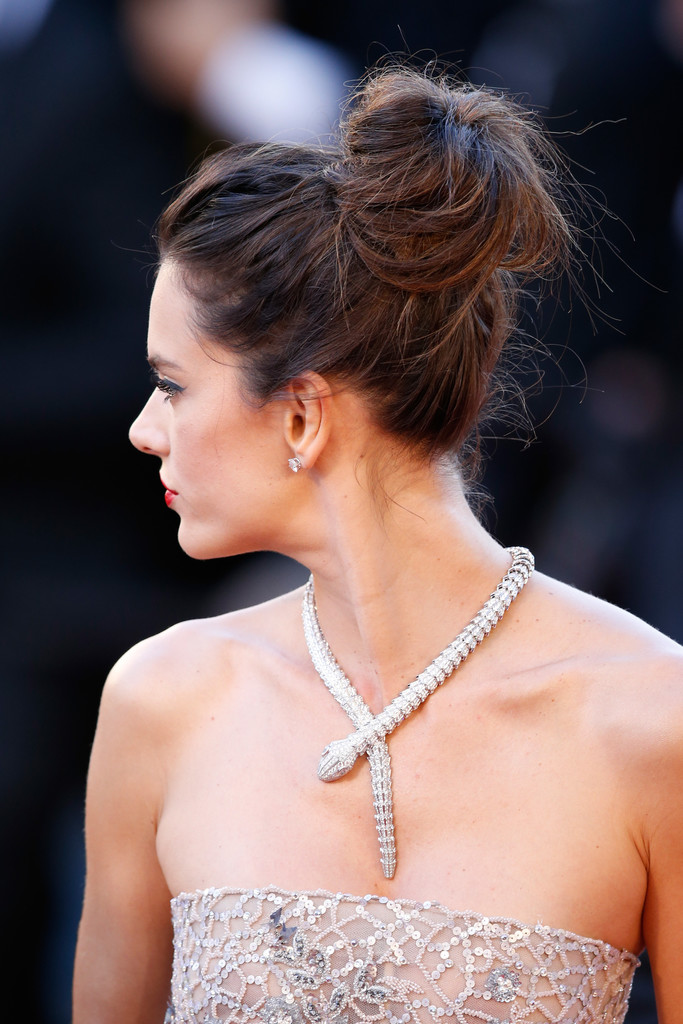 Alessandra Ambrosio Diamond Statement Necklace - Jewelry ... Alessandra Ambrosio Necklace