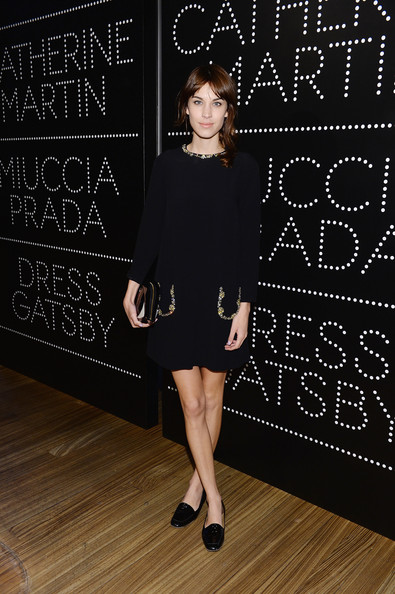 Alexa Chung Little Black Dress