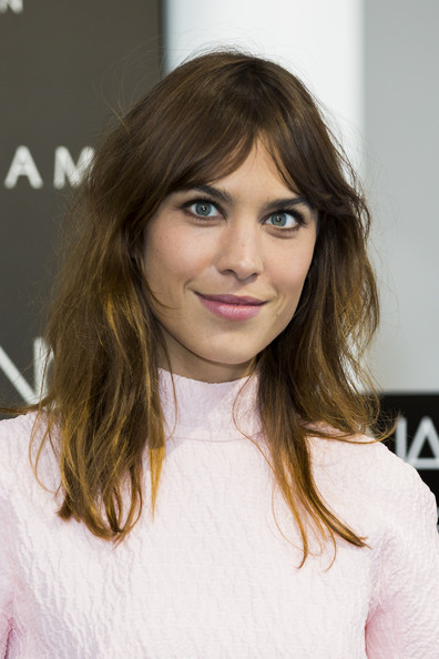 Alexa Chung Long Center Part