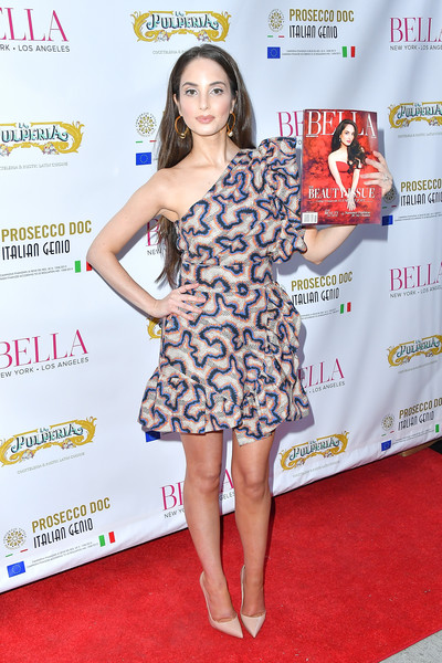 Alexa Ray Joel One Shoulder Dress