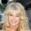 Christie Brinkley's Messy-Glam Curls