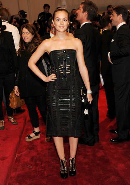 Leighton Meester In Louis Vuitton, 2011