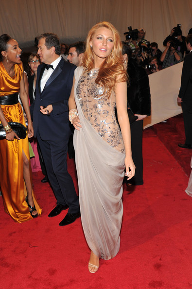 Blake Lively at the 2011 Met Gala