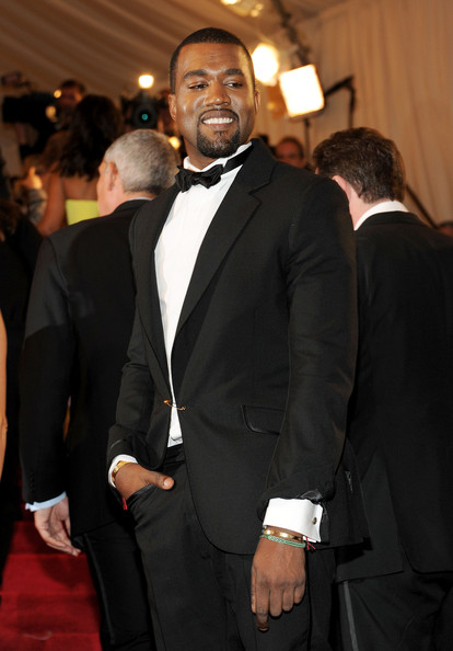 Kanye West Tuxedo January 2017