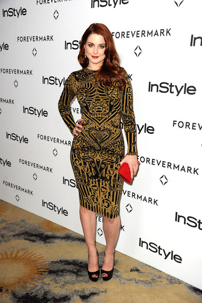 Alexandra Breckenridge Peep Toe Pumps
