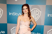 Alexandra Breckenridge Strapless Dress