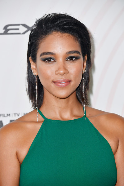 Alexandra Shipp Medium Layered Cut
