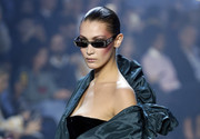 Bella Hadid looked oh-so-cool wearing these bedazzled sunnies at the Alexandre Vauthier Couture Spring 2018 show.