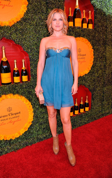 Ali Larter Strapless Dress