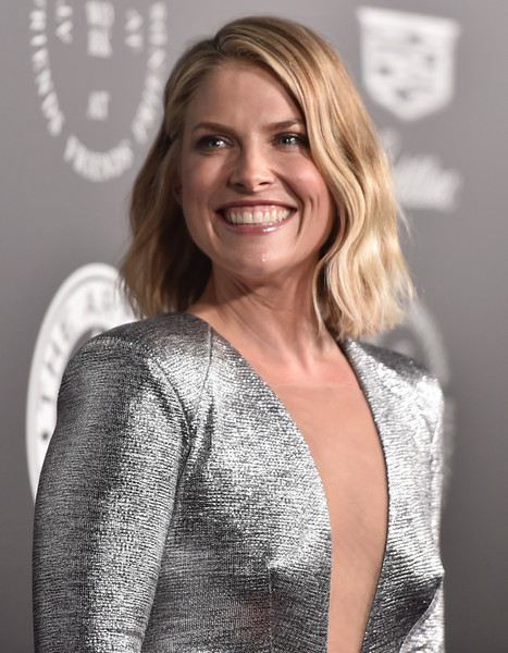 Ali Larter Short Wavy Cut [the art of elysium,hair,blond,hairstyle,beauty,long hair,shoulder,smile,premiere,neck,layered hair,red carpet,ali larter,11th annual celebration - heaven,santa monica,california,art of elysium,11th annual celebration]