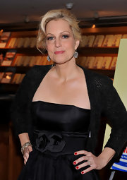 Ali Wentworth attended the launch of her new book wearing a classic opaque red nail polish.